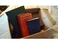 Small box of vintage books
