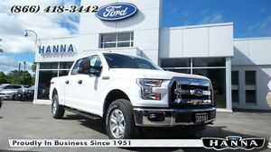 2016 Ford F-150 *NEW* SUPER CREW XLT*300A*4X4 5.0L V8 GAS
