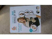 Ergo 360 Baby Carrier in box with newborn insert