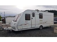 2006 Elddis Ellusion 540 L with fixed bed