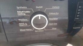 Beko washing machine black