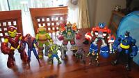 lot of action figures