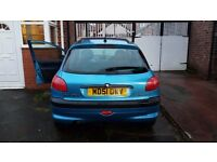 Save little French runner from scrapping !!!! Peugeot 206!!! SORNed but runs (no MOT)