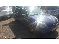 RENAULT CLIO 1.4. 2002. MOT JUNE. NON RUNNER. 112,000. SEE ADVERT. SPARES OR REPAIRS