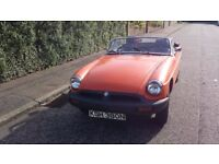 MGB Roadster 1975 tax exempt