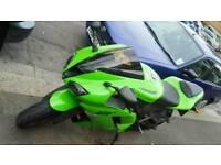 Kawasaki zx6r 600cc 2008 not r1 r6 cbr rr suzuki honda yamaha