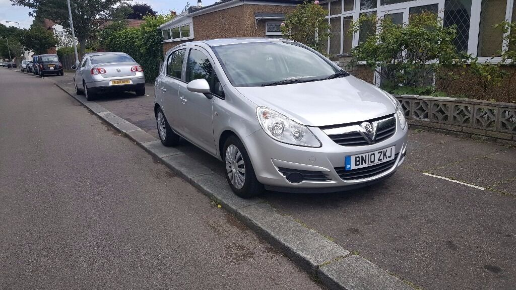 2010 VAUXHALL CORSA 1.2 AUTOMATIC 5 DOOR SILVER EXCELLENT CONDITION LONG MOT