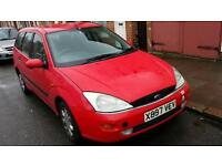Red Ford Focus