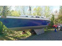 Colvic 26 Sailing Boat