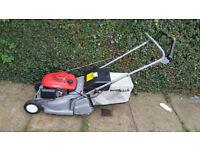 Honda HRB425C QXE self propelled petrol lawnmower