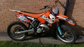 Ktm 125 2006 up for swaps or sale for 1500 no offers