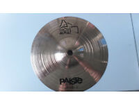 "PAISTE ALPHA 8"" SPLASH CYMBAL EXCELLENT CONDITION"