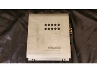 CAR AMPLIFIER KENWOOD 640 WATT 4/3/2 CH WITH 5 BAND EQUALIZER AMP CAN RUN DOOR SPEAKERS OR SUBWOOFER