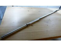 York 6 ft weight lifting bar