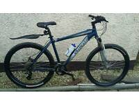 Specialized hardrock 27 speed 19 inch disc brakes mens bike