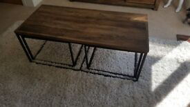 """NEXT """"Chiltern"""" Range Nested Coffee Tables"""