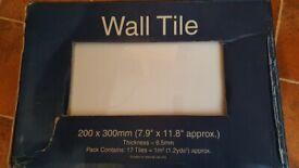 Tiles- white