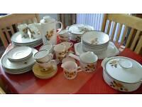 Vintage tea set and dinner service