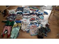Bundle boy clothes 6-12m