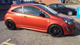 Vauxhall Corsa Limited Edition (63) Reg Chilli Orange