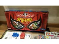 Rare Brand New Marvel Spider-man Monopoly Collectors Edition Board Game Spiderman