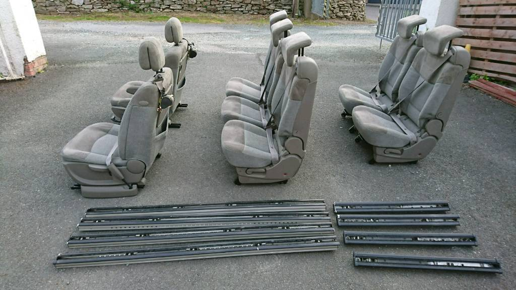 Camper Van Seats Amp Rails From Renault Espace In Plymouth