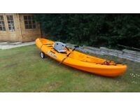 Ocean Kayak Malibu 2 sit on top kayak plus accessories.