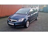 2007 (57) Vauxhall Zafira 1.6 i 16v Life 5dr - 7 Seater, 12 Months MOT