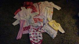 Newborn girls baby clothes
