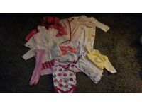 Newborn girls baby clothes
