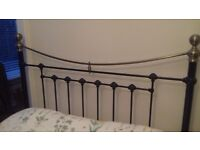 king size victorian style metal bed frame