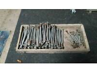 Big and Small Bolts For Sale job lot.