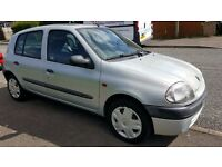 Renault Clio 2001 Grand 1.2 S 16v 3dr STUNNING CONDITION THROUGHOUT IDEAL FIRST CAR