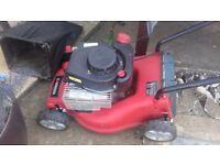 Sovereign Petrol Lawnmower