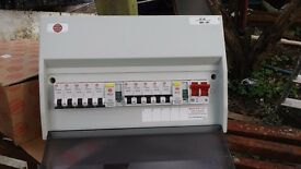 Electric new consumer unit RCD