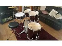 Mapped tornado drum kit