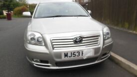 TOYOTA AVENSIS FOR SALE £500 ONO *12 MONTHS MOT*