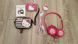 Hello Kitty 2gb MP3 Player, Headphones and 5.1MP Digital Camera w/ 2gb SD card and Case.
