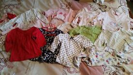 0-3 month girls huge bundle - will seperate