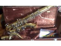 YAMAHA TENOR SAXOPHONE in FULL GOLD LACQUER the YTS 25 BETTER THAN PERFECT +++++