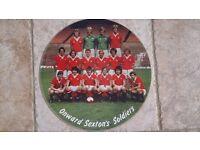 Manchester United vinyl LP
