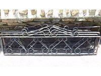 Ornate Metal Garden Panels