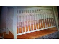 Brand New Cot. Brand new boxed. Collect today cheap. Open to offers.