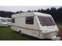 elddis craftsman 17/4 large family 4 berth caravan