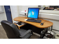Office Furniture table with 2 Drawer