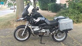 BMW GS 1150. VGC - extremely low mileage. Well maintained. Metal panniers. Garmin satnav.