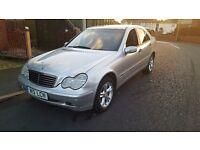 Mercedes Benz c180 6 speed full service 11 mot px c class e class 320d 318 a3 a4 a6 octavia tdi vrs