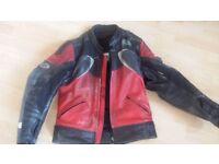 Lewis Leathers Mans Motorcycle Jacket UK38