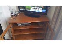 Antique Oak TV Cabinet