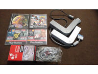 PS One Slim bundle plus games and other accessories